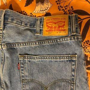 Levi's jeans 38x34